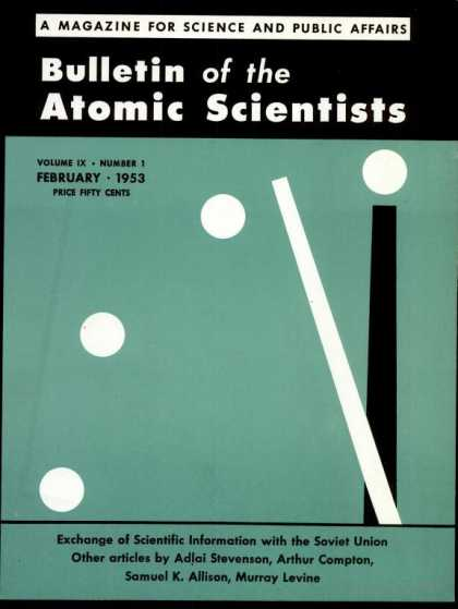 Bulletin of the Atomic Scientists - February 1953