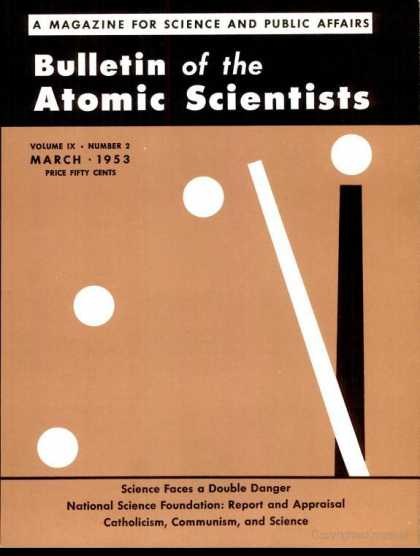 Bulletin of the Atomic Scientists - March 1953