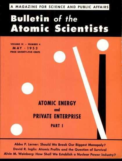 Bulletin of the Atomic Scientists - May 1953
