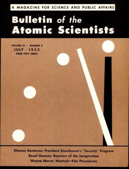 Bulletin of the Atomic Scientists - July 1953