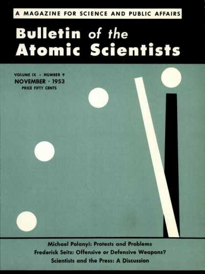 Bulletin of the Atomic Scientists - November 1953