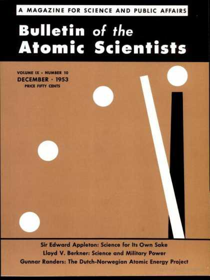 Bulletin of the Atomic Scientists - December 1953