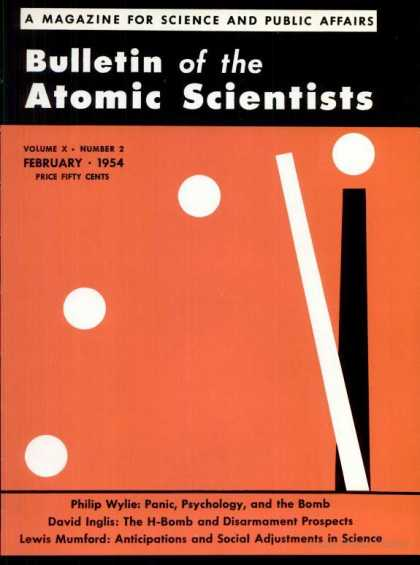 Bulletin of the Atomic Scientists - February 1954