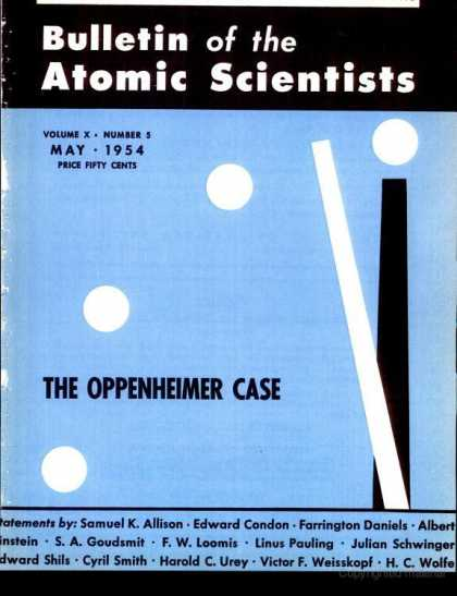 Bulletin of the Atomic Scientists - May 1954
