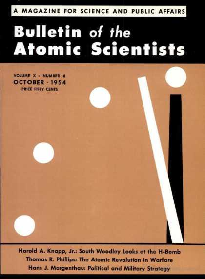 Bulletin of the Atomic Scientists - October 1954