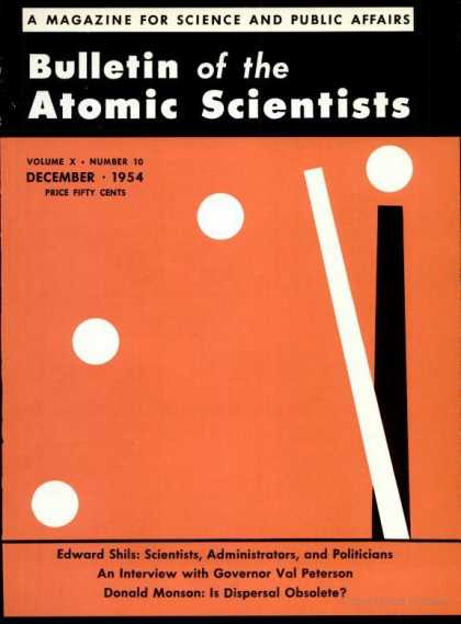 Bulletin of the Atomic Scientists - December 1954