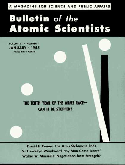 Bulletin of the Atomic Scientists - January 1955