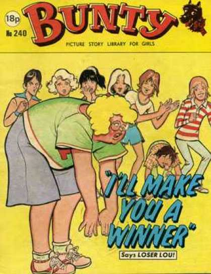 Bunty Picture Story Library 240 - Teenage Girls - Overweight Peer - Teasing - Losers - Outcast