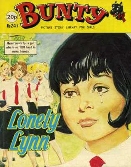 Bunty Picture Story Library 247 - Girls - Red Ties - Tears - Friends - Heartbreak