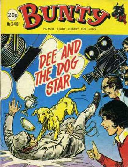 Bunty Picture Story Library 248 - Dee And The Dog Star - Camera - Cup - Lights - Cigar