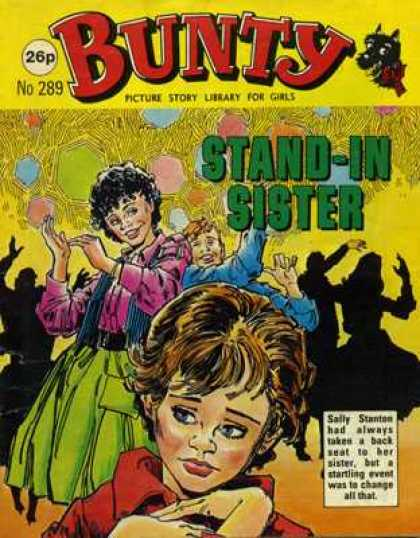 Bunty Picture Story Library 289 - Stand - Sister - Bunty - Comic - Story