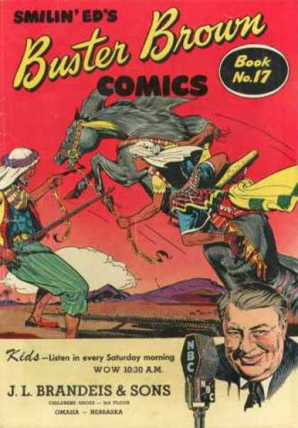 Buster Brown Comics 17 - Smilin Eds - Buster Brown - Book - No 17 - J L Brandeis U0026 Sons