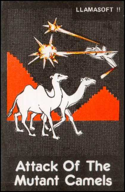 C64 Games - Attack of the Mutant Camels
