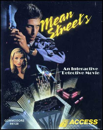C64 Games - Mean Streets