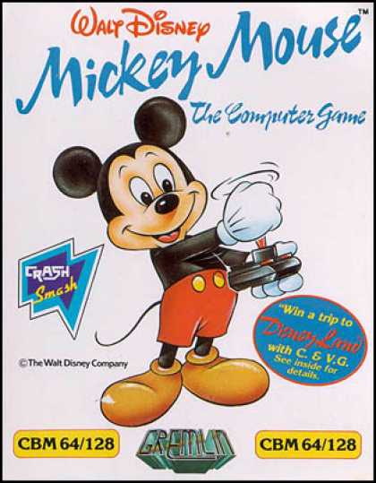 C64 Games - Mickey Mouse