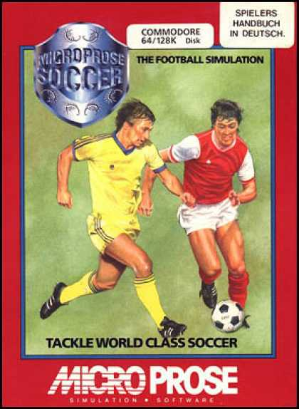 C64 Games - Microprose Soccer