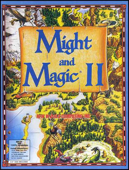 C64 Games - Might and Magic II