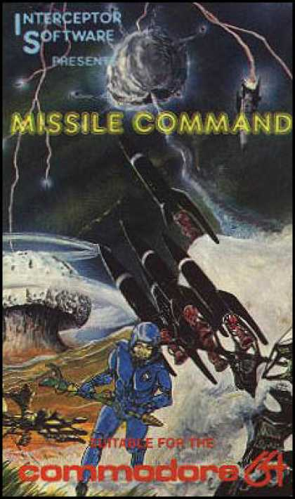 C64 Games - Missile Command
