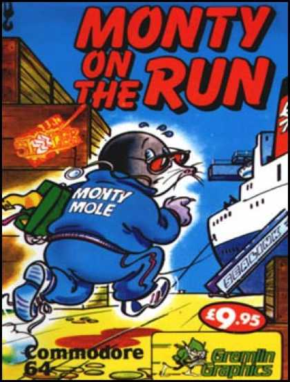 C64 Games - Monty on the Run