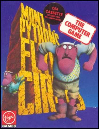 C64 Games - Monty Python's Flying Circus
