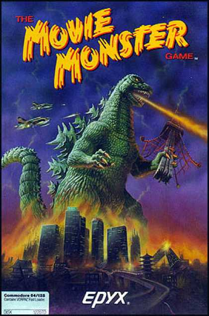 C64 Games - Movie Monster Game, The
