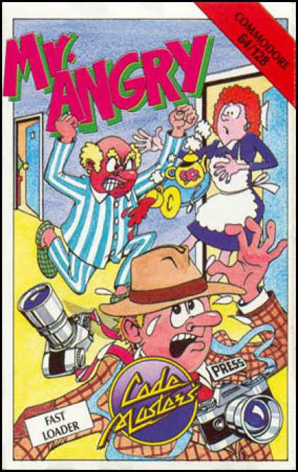 C64 Games - Mr. Angry