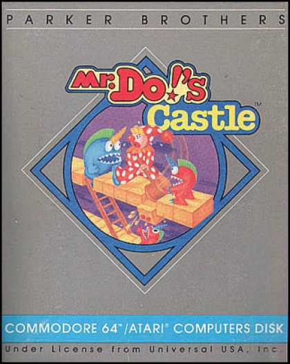 C64 Games - Mr. Do's Castle