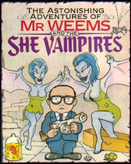 C64 Games - Mr. Weems and the She Vampires