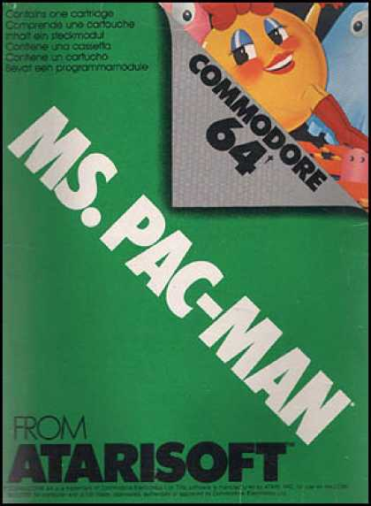 C64 Games - Ms. Pac-Man