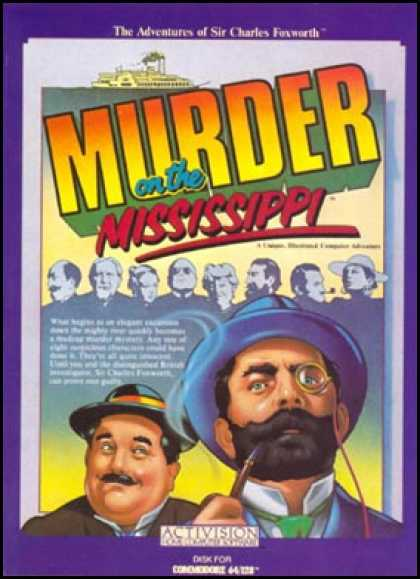 C64 Games - Murder on the Mississippi