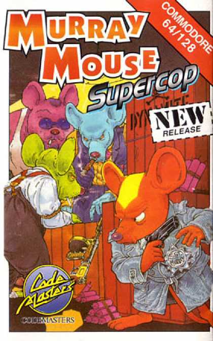 C64 Games - Murray Mouse: Super-Cop