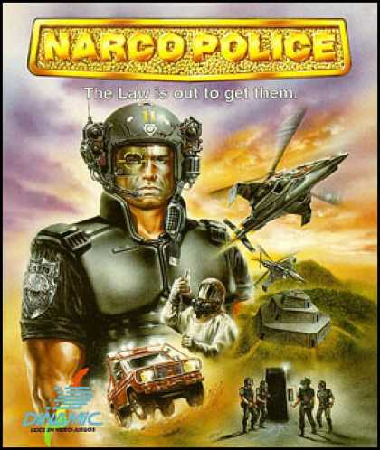C64 Games - Narco Police