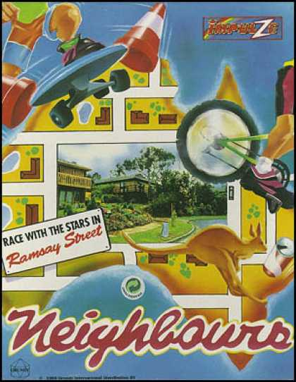C64 Games - Neighbours