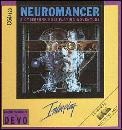 C64 Games - Neuromancer