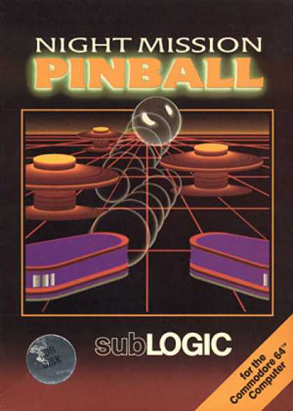 C64 Games - Night Mission Pinball