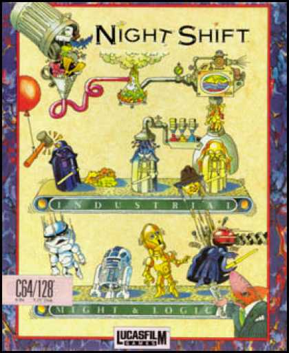 C64 Games - Night Shift