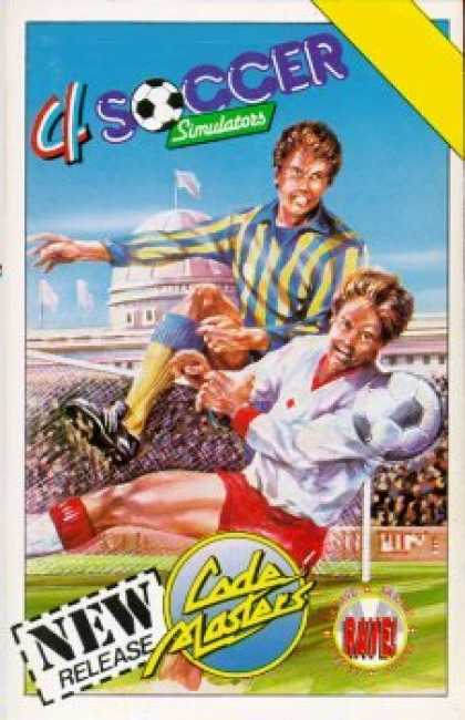 C64 Games - 4 Soccer Simulators
