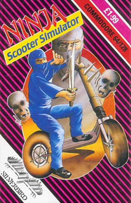 C64 Games - Ninja Scooter Simulator