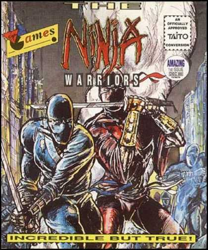 C64 Games - Ninja Warriors, The