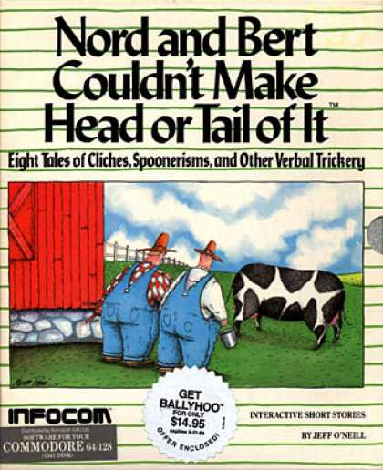 C64 Games - Nord and Bert couldn't make Head or Tail of It