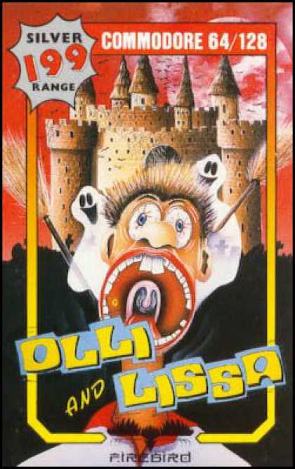 C64 Games - Olli & Lissa: The Ghost of Shilmore Castle
