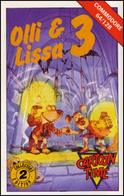 C64 Games - Olli & Lissa 3: The Candlelight Adventure