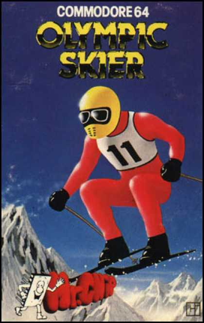 C64 Games - Olympic Skier