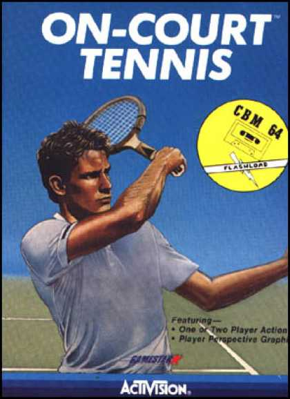 C64 Games - On Court Tennis