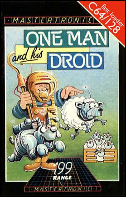 C64 Games - One Man and His Droid