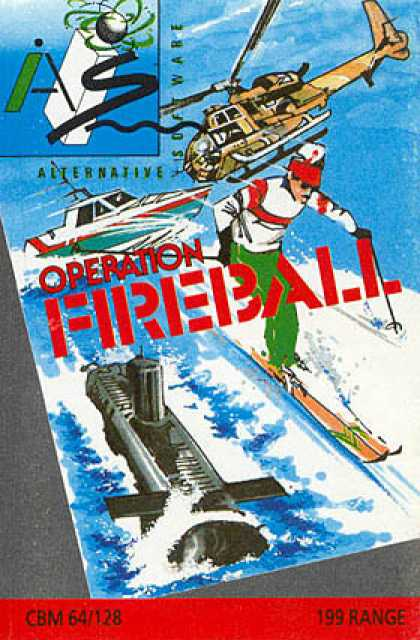 C64 Games - Operation Fireball