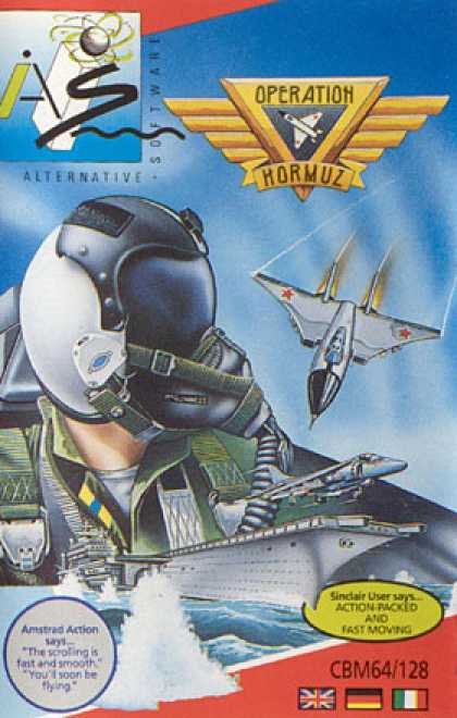 C64 Games - Operation Hormuz