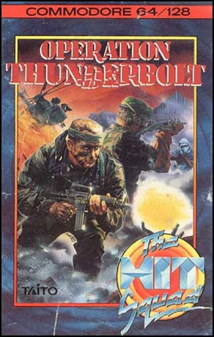 C64 Games - Operation Thunderbolt