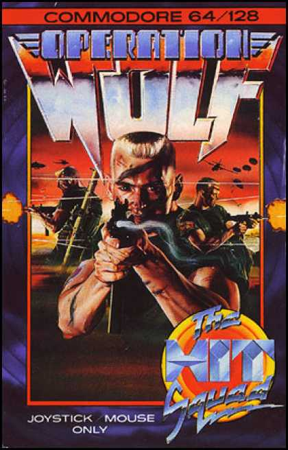 C64 Games - Operation Wolf