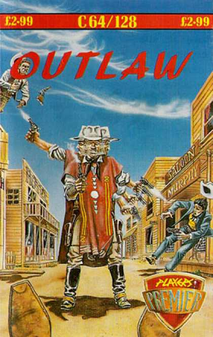 C64 Games - Outlaw